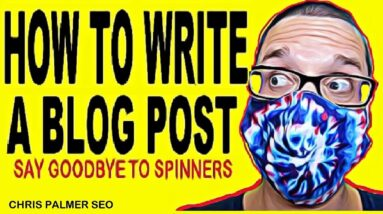 How To Write A Blog Post 😀 Content Writing
