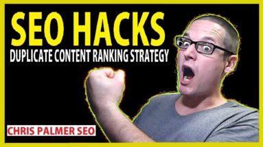 SEO Hacks Duplicate Content Strategy 2020