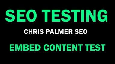 SEO Testing • Search Engine Optimization Test