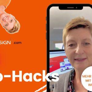 Quick Web Hacks für Website, Webdesign, SEO, Online Marketing und Werbung für UnternehmerInnen