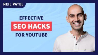Effective SEO Hacks for YouTube