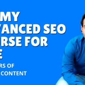 ✅ How to Learn Advanced SEO for FREE and get a Job | Invincible Lion