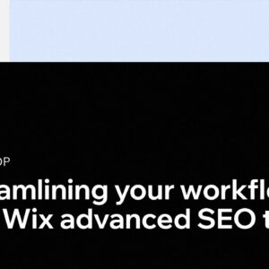 Streamlining Your Workflow with Wix Advanced SEO Tools