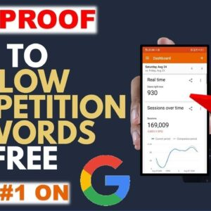 ADVANCED SEO KEYWORD RESEARCH 2021 - How to Find Low Competition Keywords High Traffic 2021